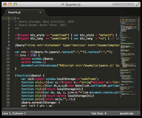 Новая версия редактора кода