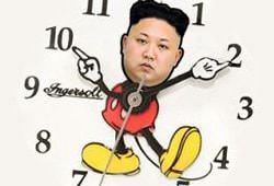 Северная Корея переходит на собственный часовой пояс