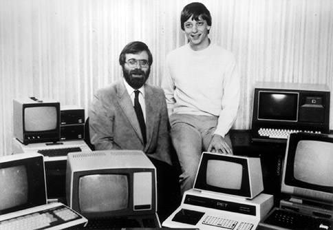eindows 30 лет Билл Гейтс и Пол Аллен