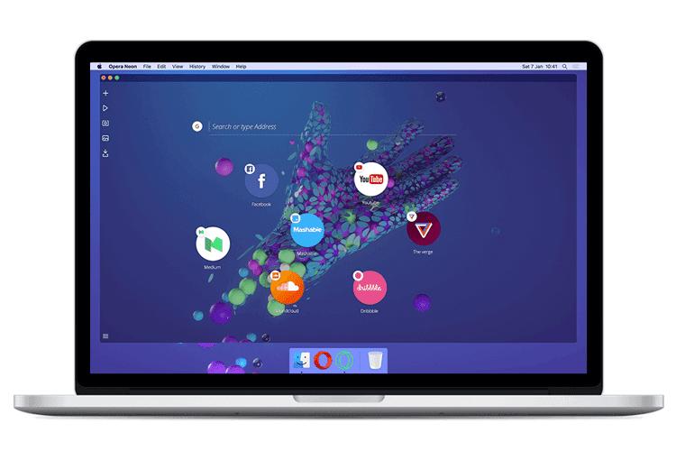 Що вам потрібно знати про новий браузер Opera Neon