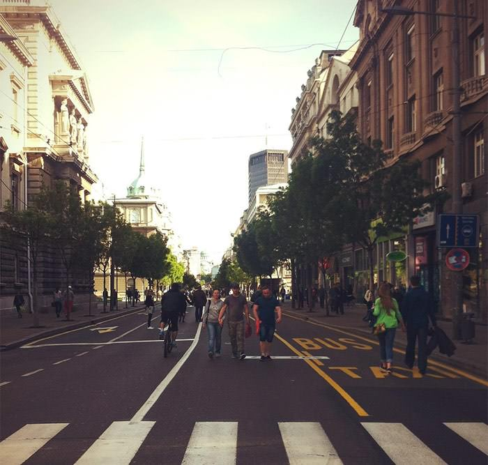 улица Белград