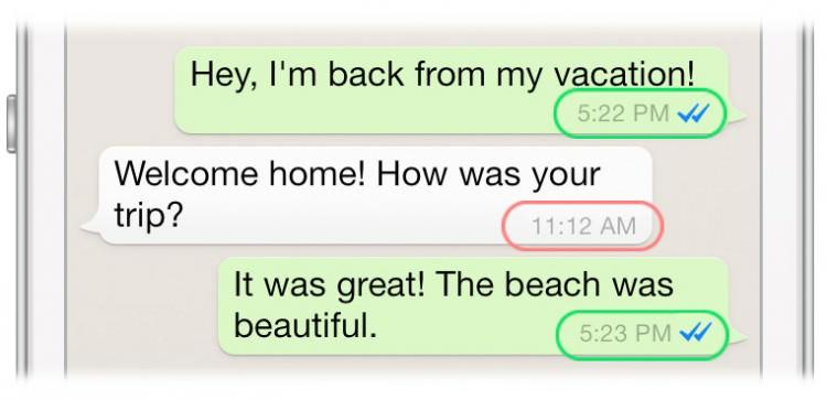 время в whatsapp