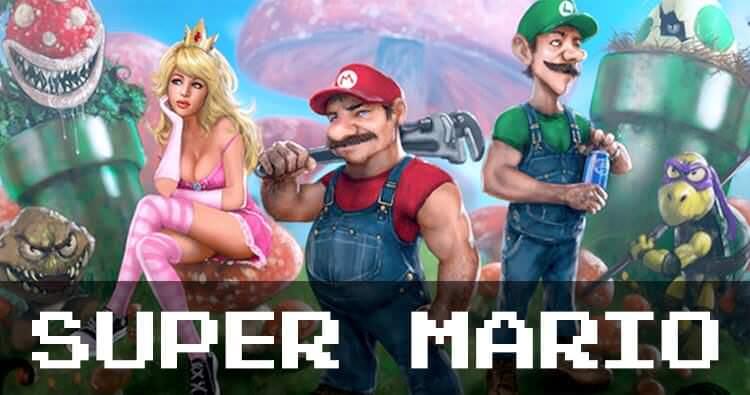 Супер Марио: 30 лет в поисках принцессы
