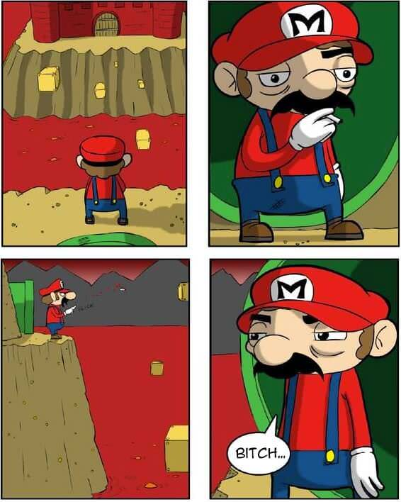 super mario bitch