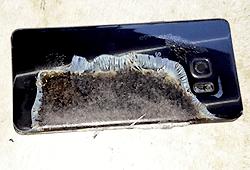 Технології Samsung пояснив, чому вибухають телефони Galaxy Note 7 samsung телефон
