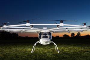 Технології Перший електричний гелікоптер Volocopter запускається в масове виробництво дрон німеччина у світі
