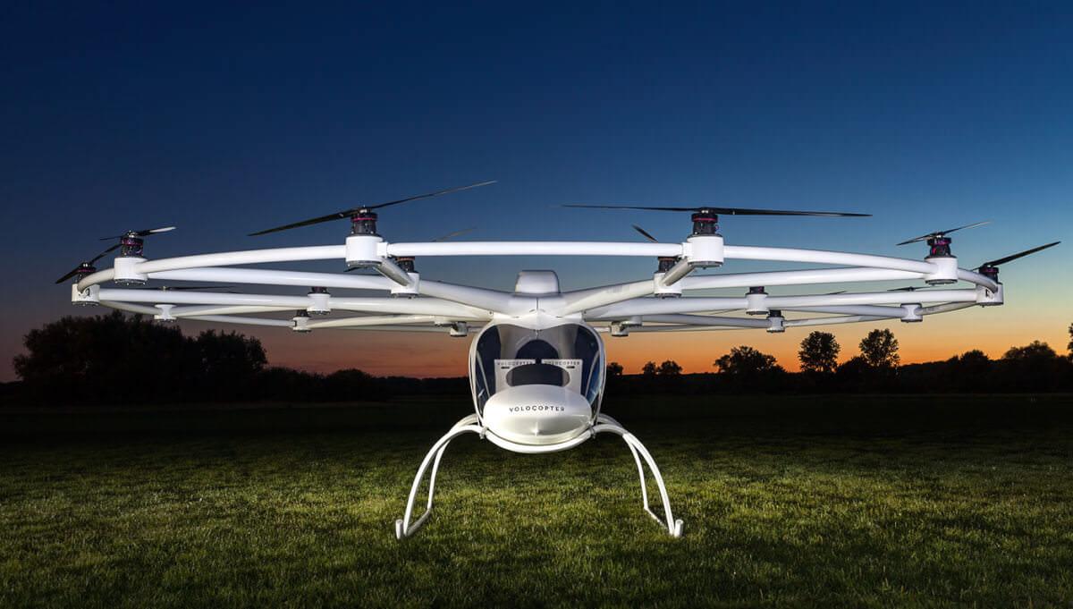 Перший електричний гелікоптер Volocopter запускається в масове виробництво