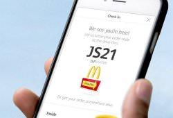 Технології McDonald's дозволить робити замовлення з мобільного телефону смартфони у світі