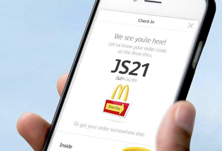 McDonald's дозволить робити замовлення з мобільного телефону