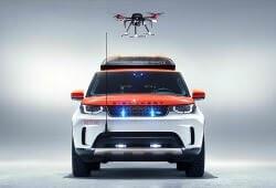 Технології Land Rover випустив позашляховик із дроном для Червоного Хреста дрон медицина