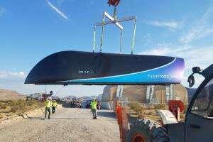 Технології В США вдало випробували вакуумну транспортну систему «Hyperloop One» Hyperloop ілон маск новина сша транспорт у світі