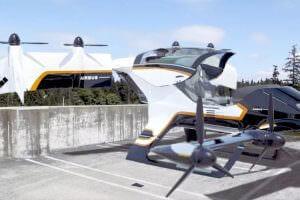 Технології Airbus представив електричне таксі «Vahana» з вертикальним зльотом авто новина сша