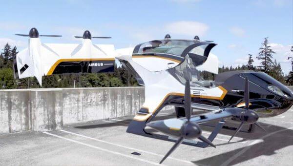 Airbus представив електричне таксі «Vahana» з вертикальним зльотом