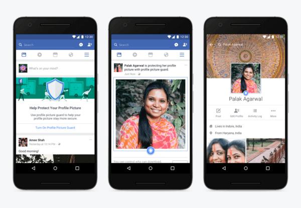 Facebook тестує функцію захисту фотографій від копіювання