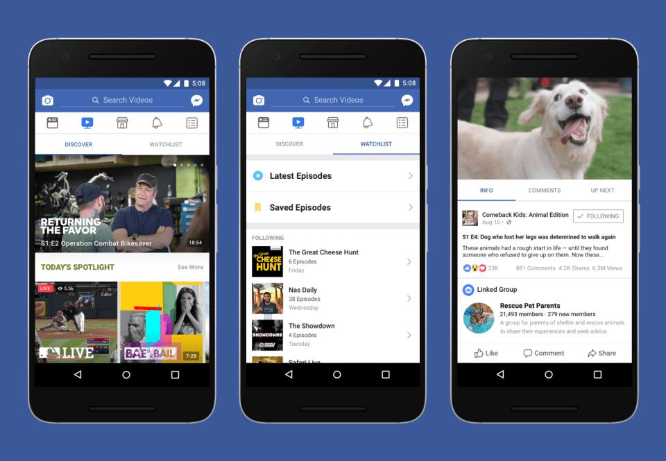 Facebook проти YouTube: Марк Цукерберг запускає всередині соцмережі власний відеосервіс