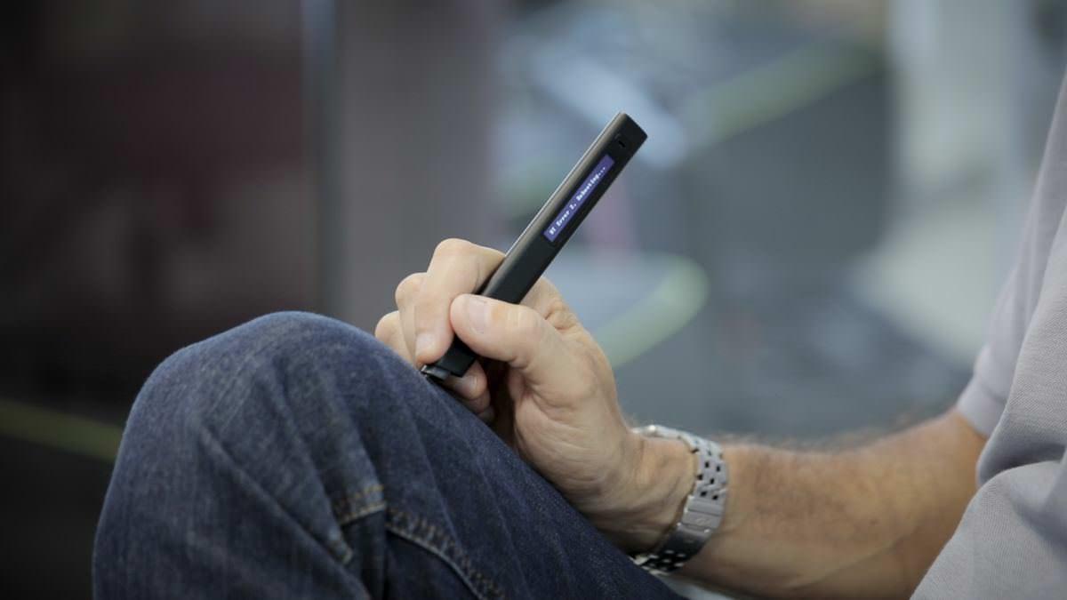 Цифровий стилус Phree може писати на чому завгодно, окрім скла та крекерів