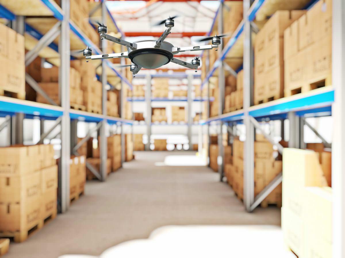 Безпілотники проводять інвентаризацію на складах за RFID-позначками