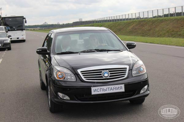 У Білорусі презентували перший власний електромобіль