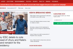Інтернет Українські новинні сайти для Африки та Філіппін щомісяця відвідують 150 млн користувачів африка ЗМІ новина у світі україна