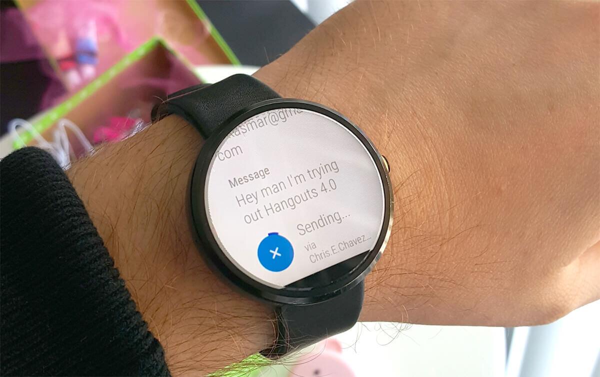 Як працює і що вміє Viber на Android Wear