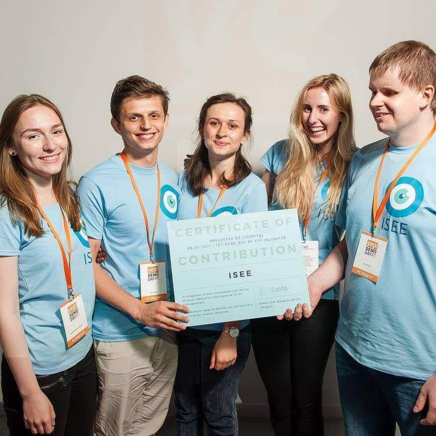 Українські студенти створили мобільний додаток, який допомагатиме незрячим людям орієнтуватись у просторі