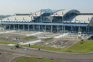 Технології В київському аеропорті «Жуляни» з'явилися сканери для онлайн-реєстрації та кіоски автоматичного чек-іну Київ новина