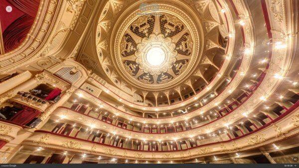 Google запустив безкоштовний 3D-тур українськими оперними театрами