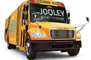 Технології Daimler презентував шкільний електробус, розрахований на 81 пасажира із запасом ходу 160 км teslaелектромобільілон маскновинасшатранспорту світі