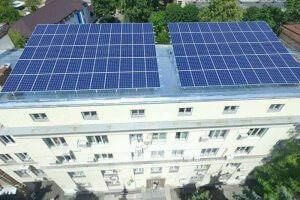 Технології Уперше на Київщині бюджетна установа перейшла на сонячну енергію енергетика Київ новина україна