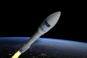 Технології З космодрому Французької Гвіани успішно злетіла ракета з українським двигуном зроблено в Україні космос новина ракета у світі франція