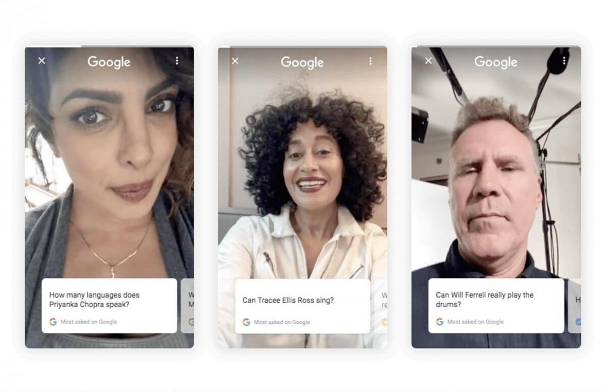 Актори і зірки зможуть відповідати на найпопулярніші запити в Google про себе