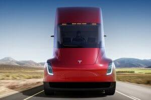 Технології Tesla отримала вже більше 100 передзамовлень на електровантажівки tesla авто електромобіль ілон маск новина сша транспорт