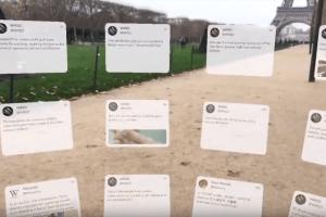 Технології Twitter тепер можна читати через додаток для доповненої реальності twitter Доповнена реальність новина сша