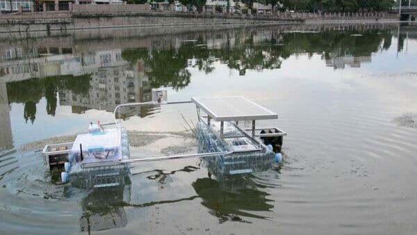 17-річний українець створив робота на сонячній енергії для очистки водойм від сміття