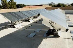 Технології Винайдено сонячні гідропанелі, які можуть виробляти питну воду з повітря екологія енергетика новина сша у світі