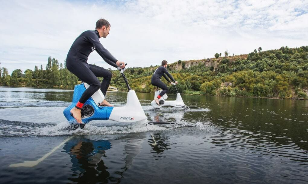У Новій Зеландії створили гідровелосипед з електродвигуном