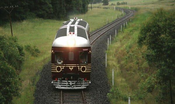 В Австралії запустили потяг, який працює на сонячній енергії