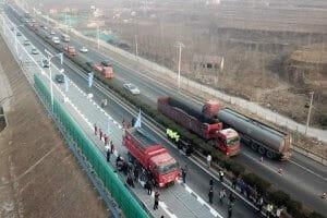 Технології У Китаї відкрили автомагістраль із сонячними батареями замість асфальту (оновлено) енергетика кнр новина транспорт у світі