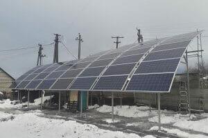 Технології На Київщині запрацювала перша в Україні сферична сонячна електростанція енергетика Київ новина україна
