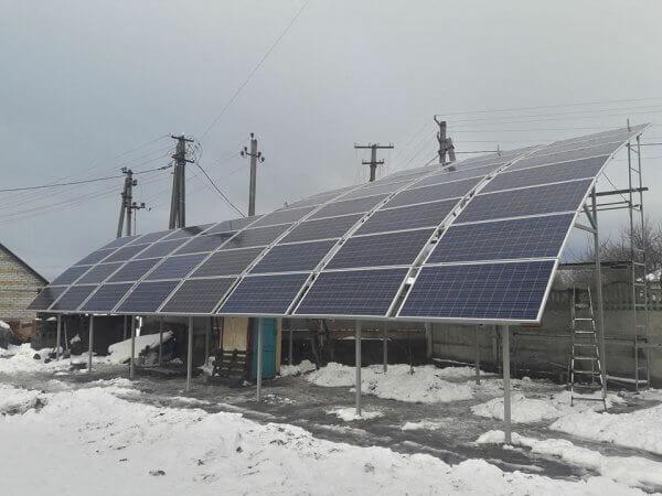 На Київщині запрацювала перша в Україні сферична сонячна електростанція