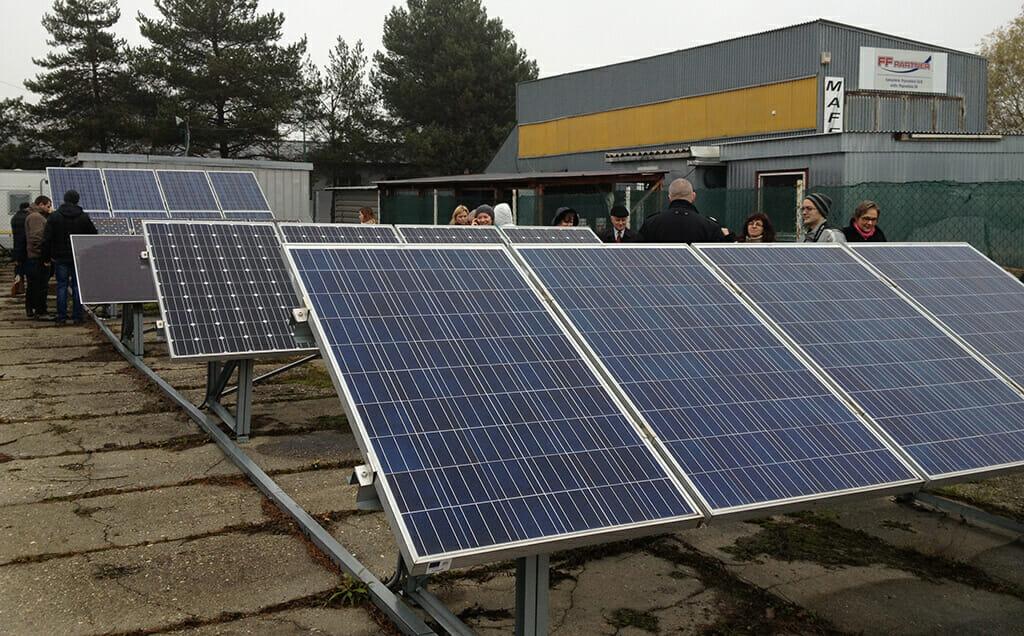 На Закарпатті відкрили першу в Україні майстерню з виготовлення сонячних колекторів