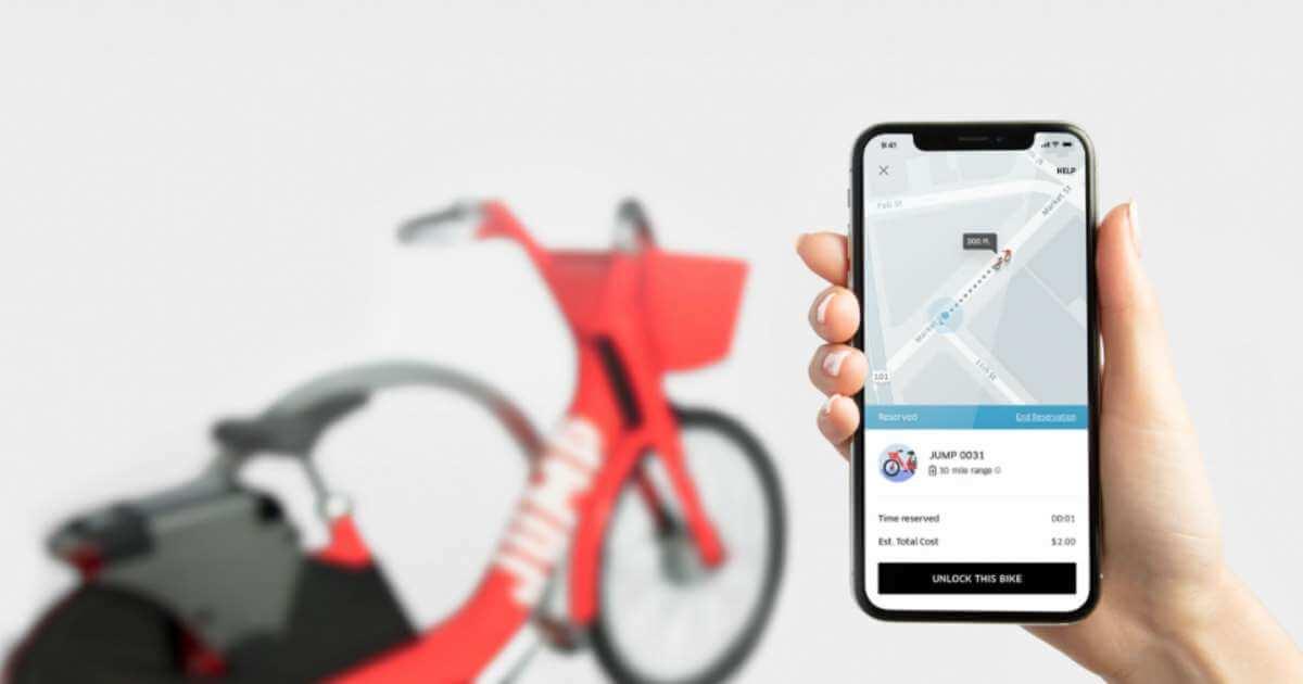 Uber запустив сервіс із прокату електровелосипедів Uber Bike