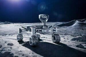 Технології На Місяці запрацює швидкісний мобільний інтернет audi falcon Nokia vodafone космос Місяць новина сша