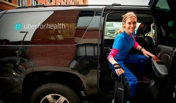 Uber створив окремий сервіс для транспортування пацієнтів до лікарні
