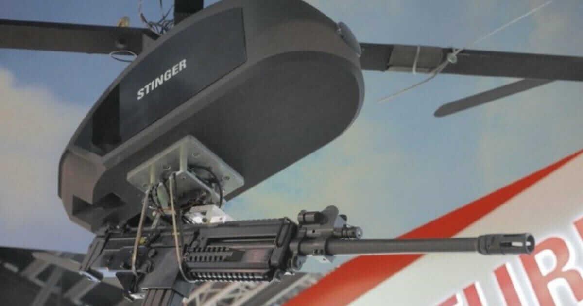 У Сінгапурі створили бойовий дрон із кулеметом