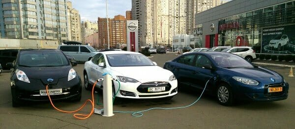2018 року до України ввезли понад 1,7 тис. електрокарів