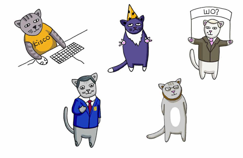 «Котики» — онлайн-проект, учасники якого борються з корупцією і водночас жертвують на благодійність