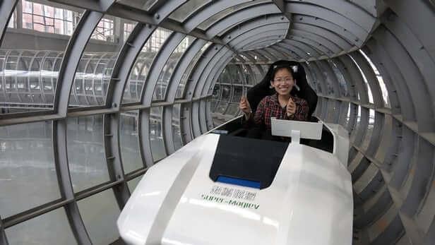 Китай створить власний Hyperloop зі швидкістю звуку на магнітній подушці