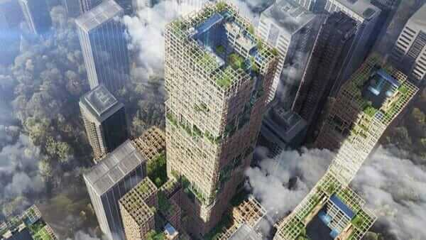 В Японії збудують 350-метровий дерев'яний хмарочос, найвищий у світі