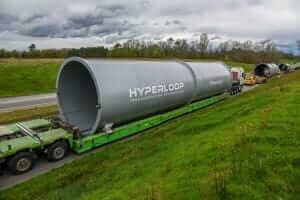 Життя 2019 року в Дубаї та Абу-Дабі запустять перший маршрут Hyperloop TT Hyperloop новина ОАЕ транспорт франція